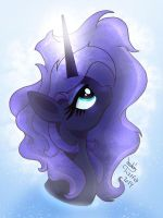 MLP FIM - Water Magic Luna by Joakaha