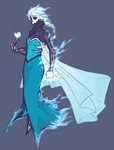FrozenxMystery Skulls - Ghost Elsa - Color by Aeorys
