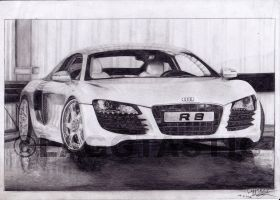 Audi R8 FINISHED by Laggtastic
