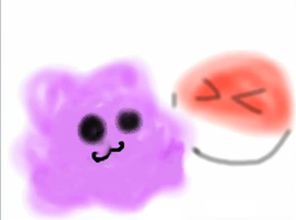 Voltorb and Ditto by AnimeVideoGamesFan37