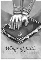 Commission: Wings of faith - cover by AurionPride