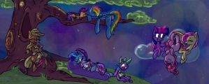 Friends in the Night by iMarieU