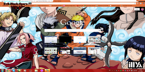 Young Naruto and Everyone else Chrome Theme 10 by Evil-Black-Sparx-77