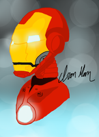 Iron Man by McKiButt