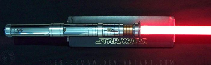 Revan's (DS) Lightsaber by SmokingCockatoo