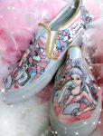 Marie Antoinette Shoes by pinkbutterflyofdeath