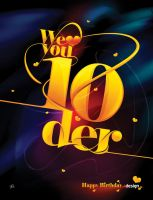 we love you 10der by antonist