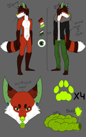 Greywin ref sheet 2014 by Pip-naget