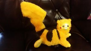 Pikachu Posable Art Doll by Eviecats