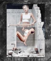 100913 - Miley Cyrus WRECKING BALL by ByunAn