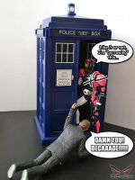 Decade Steals the TARDIS by ZaEmpera
