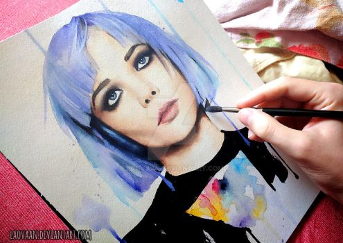 Alice Glass by Laovaan