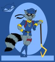 Sly Cooper by The-Manga-Goddess