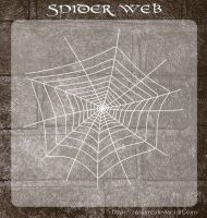 3D Spider Web by zememz