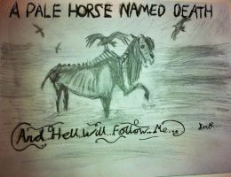 Pale Horse Named Death Artwork by rockhorsegeek
