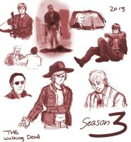Walking Dead SPOILERS by SkiM-ART