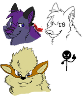 More iScribble Doodles by Miiroku