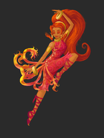Din - The Goddess Of Power by ScrapCity