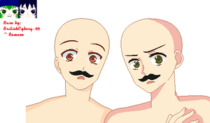 Mustachio - Base by BritishCyborg-69