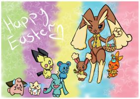 Happy easter by StarLight-StarFish