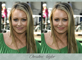 Christine Taylor Retouch by theskyinside