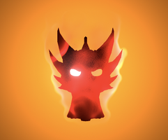 Fire logo finished... by Spartan-029