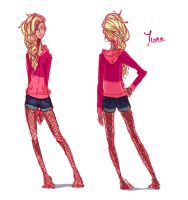 June - clothing reference by Cayys