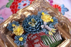 Nando-Iro hair comb by haru-mai