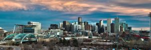 Denver HDR Pano by freeskifreeride