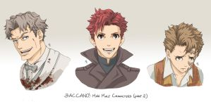 BACCANO characters part 11 by NicoleCover