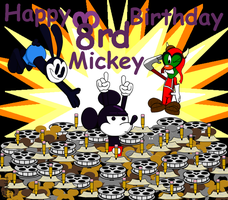 Epic Happy 83rd Birthday Mickey by TaRtOoN-Man94