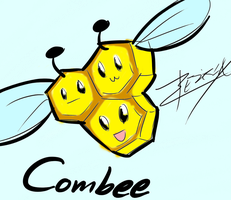 Combee by Xeirla
