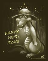 Happy New Year from Gumbo by Tsuchan