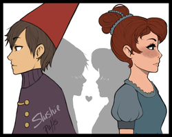Wirt and Beatrice my OTP by SlushiePuffs