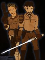 Jan and Kyle by devillo