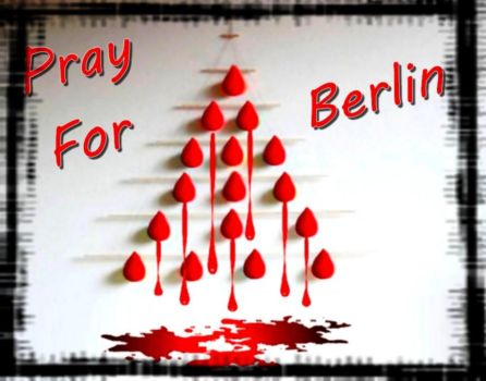 Pray for Berlin: Paris United by Ysydora