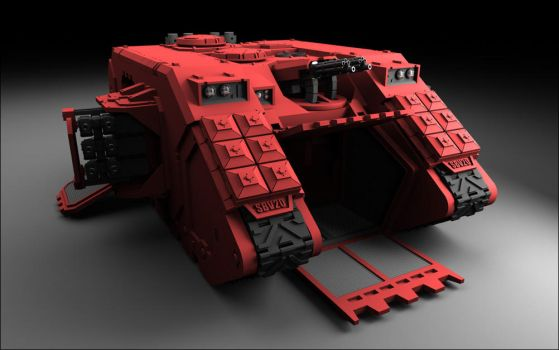 Land Raider Refresh by sbv20