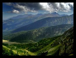 View from pass by rumun