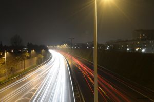 Highway by Night I by Thebit846