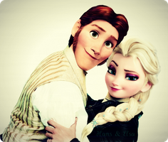 Hans and Elsa by Simmeh