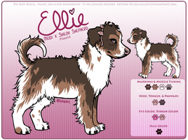 Character Ref - Ellie by iMoiety