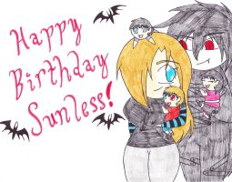 B-Day for Sunless! by RikkuGurl90