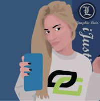 Ijustine by LuisPlaceres