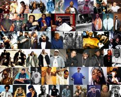 The Greatest Rappers by GodElite