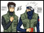 naruto : the team 7 chiefs by noodlemie