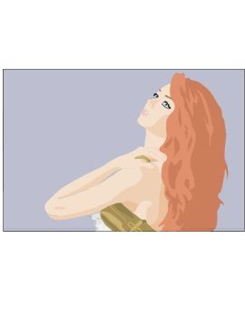Lily Cole Ad Vector by SummersNeverending
