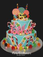 Candyland Cake by ArteDiAmore
