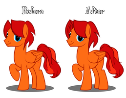 Mane Modification by golden-fox19