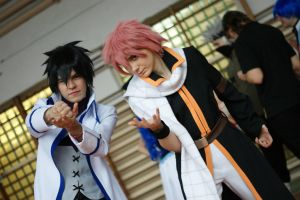 Fairy Tail boys by ToraCosplayers