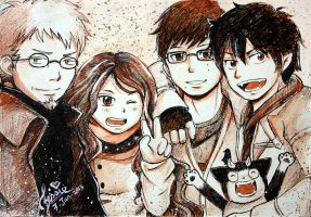 The Okumura Family by DivaDiva